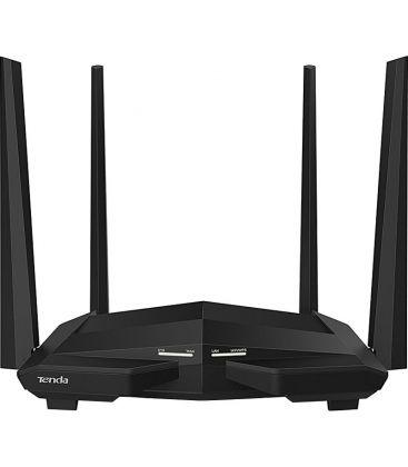Router wireless Tenda AC10U, Gigabit, AC1200, Dual-band, Negru