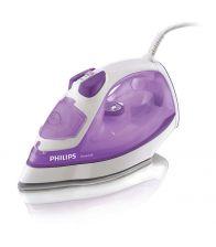Fier de calcat Philips PowerLife GC2930/30, Talpa SteamGlide, 2300 W, 0.3 l, 35 g/min, 120 g/min, 1.8 m, Alb/Mov