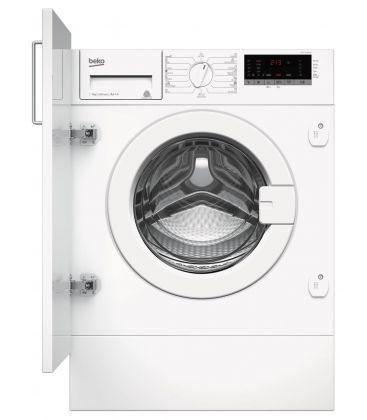 Masina de spalat rufe incorporabila Beko WITC7612B0W, Clasa A+++, Capacitate 7 kg, 1200 RPM, Display LED, Alb