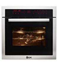 Cuptor incorporabil LDK 65BK/IX 90T3, Clasa A, Capacitate 70 l, Afisaj LED, Control Touch, Negru