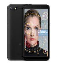 Telefon Xiaomi Redmi 6A, Mediatek Helio A22 2 GHz, 32GB, 2GB RAM, Dual SIM, AI face unlock, Negru