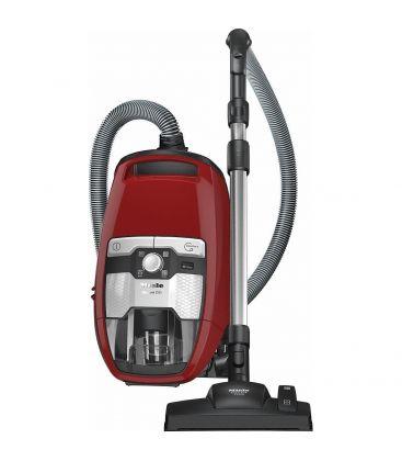 Aspirator fara sac Miele Blizzard CX1 Red PowerLine - SKRF3, 890 W, Filtru fara intretinere, Rosu