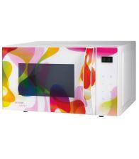 Cuptor cu microunde Gorenje MO20KARIM design Karim Rashid, 20 l, Smart Display, 5 nivele de putere, Alb