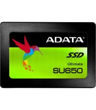 SSD ADATA Ultimate SU650, Capacitate 120 GB, Interfata SATA-III, Format 2.5 inch