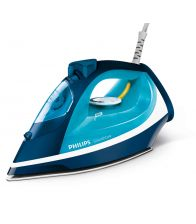 Fier de calcat Philips GC3582/20, 2400 W, Smooth Care, EasyFlow Ceramic,  0.4 l, 170 g/min, Albastru