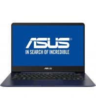 Ultrabook ASUS ZenBook UX430UA-GV334, FHD, Procesor Intel® Core™ i5-8250U, 8GB, 256GB SSD, GMA UHD 620, Endless OS, Blue