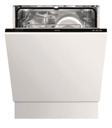 Masina de spalat vase incorporabila Gorenje GV61010, Clasa A++, 12 seturi, 5 programe, 60 cm, Alb