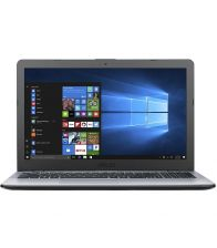 Laptop ASUS X542UA-DM444R, Procesor i3-7100U, 4GB DDR4, 500GB, GMA HD 620, FingerPrint Reader, Win 10 Pro, Gri
