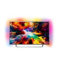 Televizor PHILIPS 50PUS7303/12, 126 cm, Smart, Android, 4K Ultra HD, Argintiu