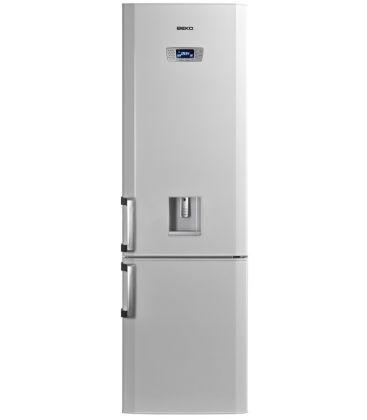 Combina Frigorifica BEKO DBK386WDR+, Clasa A+, Capacitate 331 l, H 201 cm, Dispenser apa,  Alb