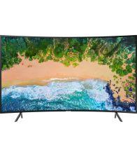 Televizor Samsung 49NU7302, Smart, Curbat, 123 cm, Ultra HD 4K, Negru