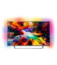 Televizor Philips 55PUS7303/12, Smart TV, Android, 139 cm, Ultra HD 4K, Argintiu
