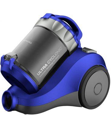 Aspirator fara sac Daewoo RCC-120L/2A, Putere 800 W, Capacitate 2L, Filtru Hepa, Ciclonic, Albastru