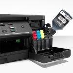 Multifunctionala Brother DCP-T510, InkJet, Color, Format A4, Wireless, Negru