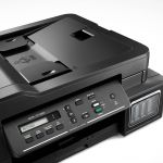 Multifunctionala Brother DCP-T710W, InkJet, Color, ADF, Format A4, Wireless, Negru