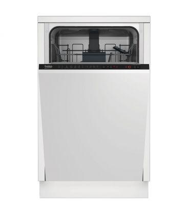Masina de spalat vase incorporabila Beko DIS26021, Clasa A++, Capacitate 10 seturi, 6 programe, Alb