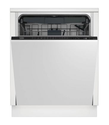 Masina de spalat vase incorporabila Beko DIN28430, Clasa A+++, Capacitate 14 seturi, 8 programe, Alb