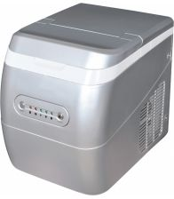 Masina de facut gheata Arielli AIM-1501BL, Capacitate 14 Kg/zi, Argintiu