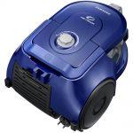 Aspirator fara sac Samsung VCC43Q0V3B, Putere 850 W, Capacitate 1.3 l, Air Track, Tub telescopic, Albastru