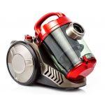 Aspirator fara sac LDK Tornado 2, Putere 800 W, Capacitate 2l, Rosu