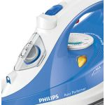Fier de calcat Philips Azur Performer GC3810/20, Talpa SteamGlide Plus, Putere 2400 W, 0.3 l, 150 g/min, Alb/Albastru