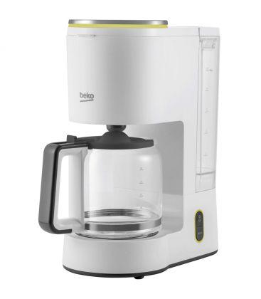 Cafetiera Beko Foodster FCM1321W, Putere 1000 W, Capacitate 10 cesti, Functie ajustare aroma, Oprire automata, Alb