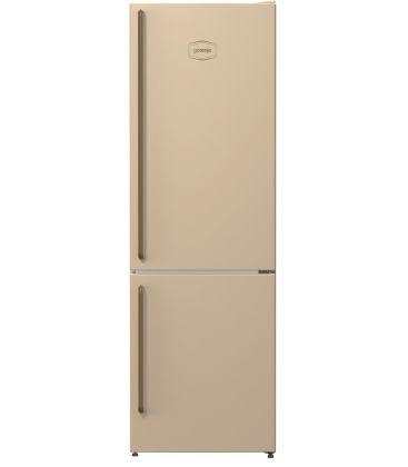 Combina frigorifica Gorenje Old Time NRK611CLI, Clasa A+, Capacitate 325 l, NoFrost Plus, Crem