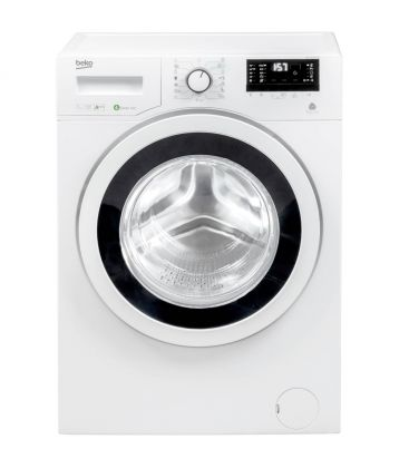 Masina de spalat rufe Slim Beko WKY71033PTLYB3, Clasa A+++, Capacitate 7 kg, 1000 RPM, Mini LCD, Alb