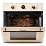 Cuptor incorporabil LDK RL-1217 RUSTIC CREAM, Electric, Mecanic, Timer, Gril, Iluminare, Crem