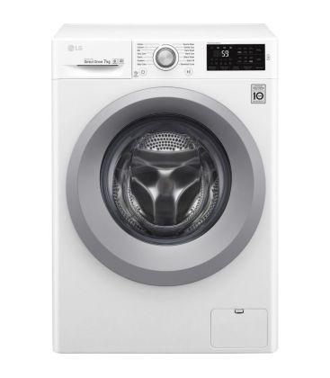 Masina de spalat rufe LG F2J5QN4W, Direct Drive,Clasa A+++, Capacitate 7 KG,1200 RPM, Alb