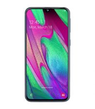 Telefon Samsung Galaxy A40 (2019), Full HD+, Octa Core, Capacitate 64 GB, 4GB RAM, Dual SIM, Fast Charge, Negru