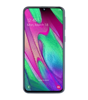 Telefon Samsung Galaxy A40 (2019), Full HD+, Octa Core, Capacitate 64 GB, 4GB RAM, Dual SIM, Fast Charge, Negru