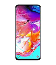 Telefon Samsung Galaxy A70 (2019), Octa Core, Capacitate 128 GB, 6 GB RAM, Amprenta sub display, Alb
