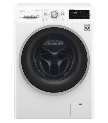 Masina de spalat rufe LG F0J6WY1W, Clasa  A+++, Capacitate 6.5 kg, Steam,  1000 rpm, Direct Drive, Slim, Alb