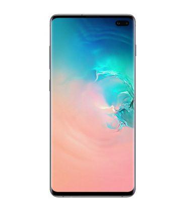 Telefon Samsung Galaxy S10 Plus, Octa Core, Capacitate 128 GB, 8 GB RAM, Dual SIM, Alb