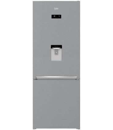 Combina frigorifica Beko RCNE560E30DZXB, Clasa A++, Capacitate 497 l, NeoFrost Dual Cooling, Argintiu