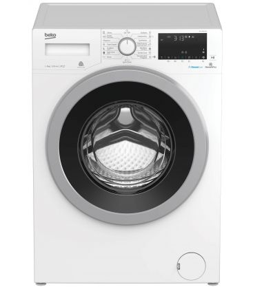 Masina de spalat BEKO WTV9636XS0, Clasa A+++, Capacitate 9 Kg, SteamCure™, HomeWhiz, Bluetooth, Alb