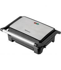 Grill electric Rohnson R2103 Panini, Putere 800 W, Placi antiaderente, Gri