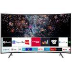 Televizor SAMSUNG 49RU7302, Curbat, Smart, 123 cm, Ultra HD 4K, Negru