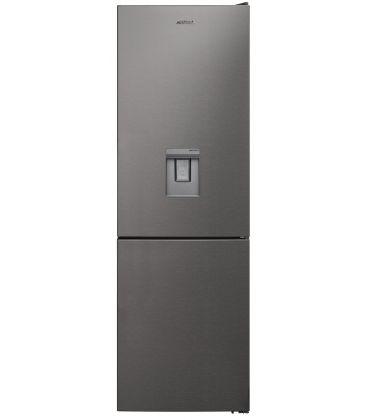 Combina frigorifica SILTAL Passione IHIDQ32NX, Clasa A+, Capacitate 324 l,  No Frost, Dozator de apa, Inox