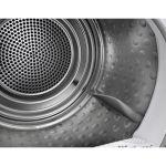 Uscator de rufe AEG T8DEE48S, Clasa A++, Capacitate 8 Kg, Pompa de caldura, Motor inverter, Alb