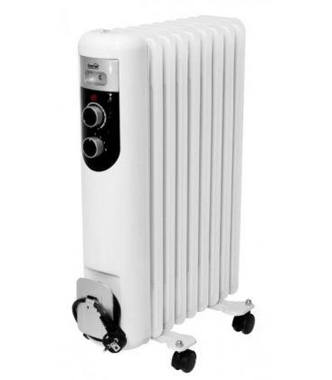 Calorifer electric HOME FKOS9M, Putere 1500 W, 9 elementi, Alb