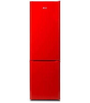 Combina frigorifica LDK CF 261 Bordo, Clasa A+, Capacitate 244 l, Rosu