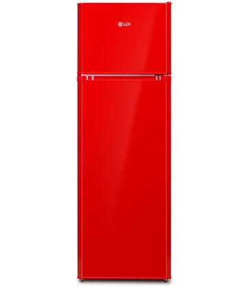 Frigider LDK LF 260 RED, Clasa A+, Capacitate 240 l, H 159 cm, 5 ani garantie, Rosu