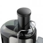 Storcator de fructe Rohnson R425, Putere 1000 W, Tub XXL, Recipient pulpa 1,6L, 2 Viteze, Negru/Inox