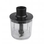 Mixer vertical Rohnson R579, Putere 700 W, Tel, Tocator, Pahar gradat 0.7 l, Negru