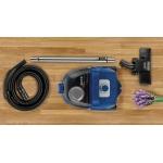 Aspirator fara sac Gorenje VCEA01GACBUCY, Putere 800 W, Capacitate 2.2 l, Filtru HEPA, Albastru