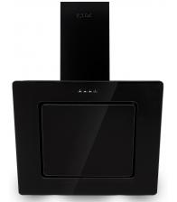 Hota decorativa LDK Mod 1453 Black 60, Putere de absortie 650 mc/h, Control touch,  Filtru aluminiu, Negru