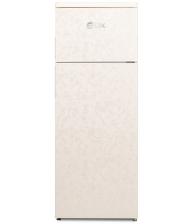 Frigider cu doua usi LDK LF 220 BEIGE, Clasa A+, Capacitate 213 l, H 144 cm, Bej