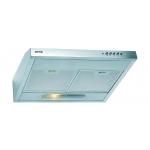 Hota Gorenje DU5345E, Putere de absortie 172 m³/h, Filtru Aluminiu, Inox
